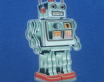 NEW - robot tee shirt - psychedelic, tripping, lsd, molly, dmt, dubstep, edm, electronica