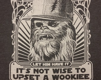 Let the Wookiee Win lot shirt - Grateful Dead, Phish, Furthur, GDF, tour, music festival, shakedown