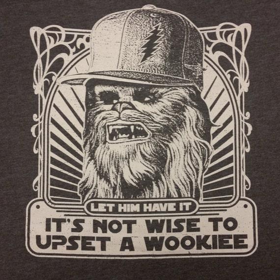 Let the Wookiee Win lot shirt - Grateful Dead, Phish, Furthur, GDF, tour, music festival, shakedown