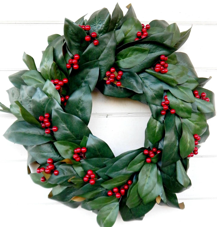 Magnolia Wreath-Summer Wreath-Farmhouse Decor-MAGNOLIA Wreath ...