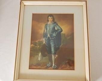 Blue Boy Print Thomas Gainsborough