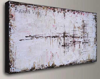 brown art, wall art Abstract Painting Acrylic 's canvas large abstract canvas art painting wall home office interior decor Visi