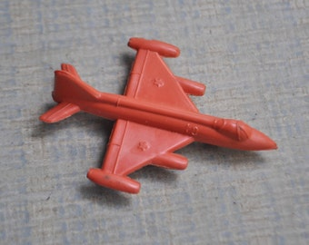 Vintage Soviet Russian plastic toy, USSR aircraft.