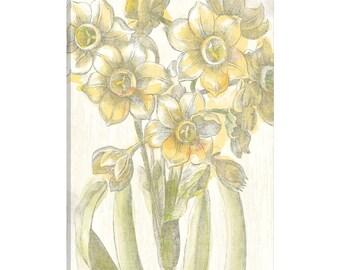 iCanvas Belle Fleur Jaune IV Gallery Wrapped Canvas Art Print by Sue Schlabach
