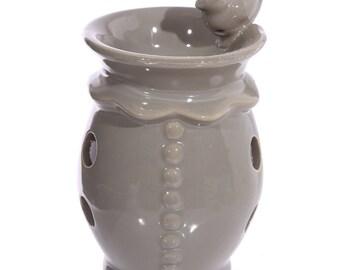 Ceramic Bird Bath Oil Burner