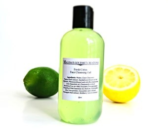 8oz Fresh Citrus Face Cleansing Gel