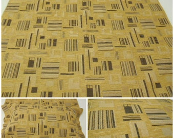 Upholstery Fabric- Remnant Fabric- pc w26.5inx26.5in L-Greatec Textiles- Bora- Autumn - Upholstery fabric-