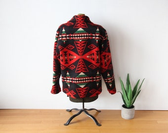 Pendleton Blanket Wool Coat.  Size Small