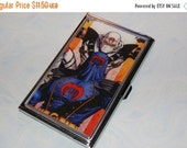 ON SALE Metal Business Card Holder made with Upcycled Cobra Comic Book Artwork, GI Joe
