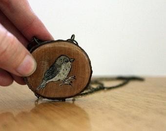 I am a bird necklace -sale