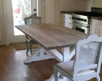 Farm Table Shabby Cottage Chic FREE SHIPPING