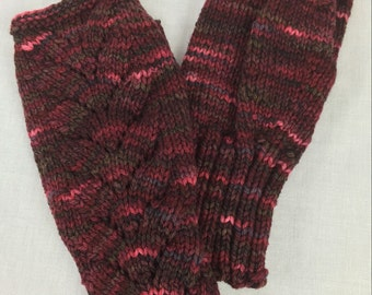 100% Merino Wool Fingerless Gloves, 104