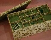SPECIAL SIZE 3 Level Jewelry Box