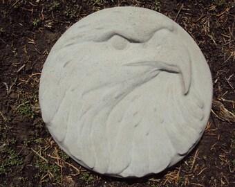 Eagle Garden Plaque, Stepping Stone