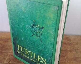 Journal, Turtles vintage repurposed nature Journal