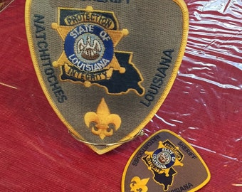 Police/Fire department wall plaques