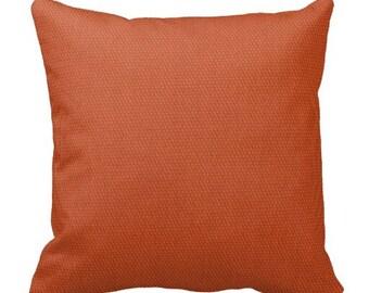 Outdoor Pillows, Orange Fall Pillows, Pool Pillows,Solid Pillows,Decorative Pillows,Outdoor Couch Pillows, Pillow Covers, Pillow Sets