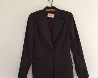 Vintage 40's Wool Blazer / Charles Anson Bond Fifth Ave Jacket M
