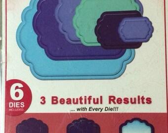 Spellbinders Nestabilities Cut~Emboss~Stencil  LABELS ELEVEN  S4-246  6 templates