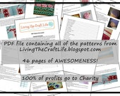 Living The Craft Life **ALL PATTERNS** PDF File **Instant Download**