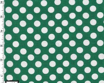 Forest Green Ta Dot from Michael Miller