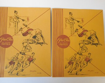2 Vintage Pee-Chee All Season Portfolios