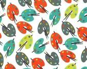 Fat Quarter fabric for quilt or craft Michael Miller Paint Palettes in Retro Fat Quarter