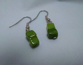 Green shell danglers