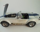 Classicwrecks Rusted Wrecked Scale Model Cobra White Rat Rod