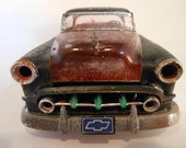 Classicwrecks Rusted Scale Model Rat Rod Chevy Car