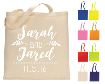 Canvas Tote Bags, Personalized Bags, Wedding Tote Bags, Welcome Bags, Wedding Favors, Custom Cotton Tote Bags, Monogrammed Bag, 1155, 1318