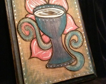 Ace of Cups Plaque