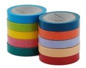 10 rolls Washi Tape (0.75cm*5m) - Colorful 10043750