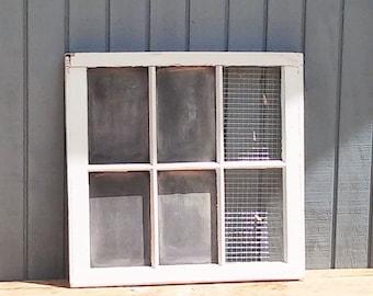 Antique Window Message Board