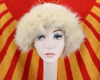 Vintage Mr. Michael Rabbit & Coyote Women's Fur Hat