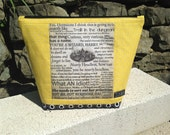 Hufflepuff Harry Potter quotes project bag