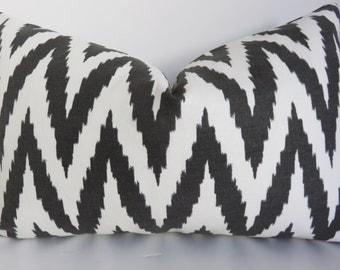 White Black Pillow Cover- Chevron Pillow Cover - Chevron Pillow - White Black  Chevron Pillow