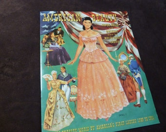 Paper Dolls American Beauty Dresses Worn by White House First Ladies