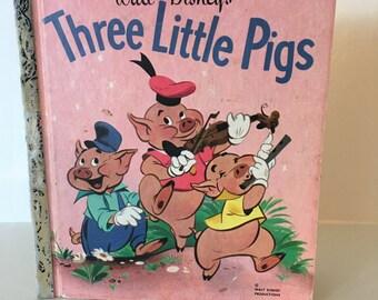 1953 Walt Disney's Three Little Pigs