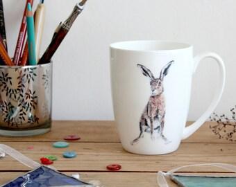 Hadrian Bone China Hare Mug