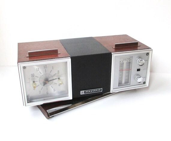 panasonic alarm clock radio model rc 7467. Black Bedroom Furniture Sets. Home Design Ideas