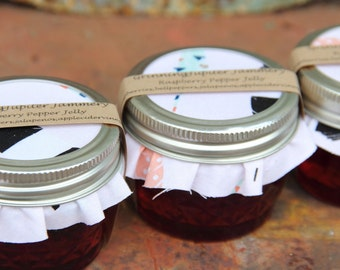 Homemade Raspberry Pepper Jelly - 4oz jar