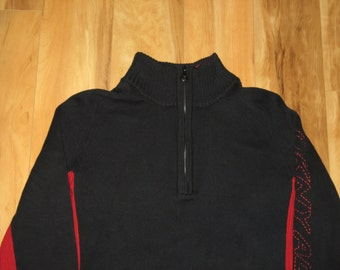 Rare Vintage 1990s DKNY Rave Pullover Sweater