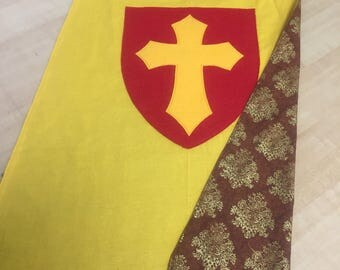Yellow Royalty Cape