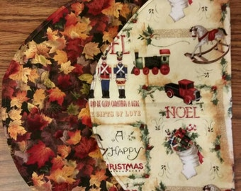 Fall/Holiday Oval Placemat (set of 4)