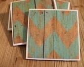 Half Price SALE! Decorative Coasters. Tile Coasters. Coaster set