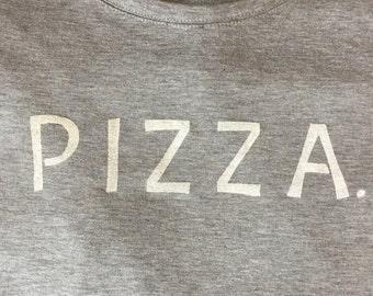 Handpainted PIZZA Sweatshirt - S