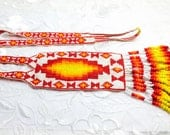 RESERVED For Mark43071,Vintage Native Necklace, Beaded, South Western U S A, HALF OFF Sale, Item No. B373