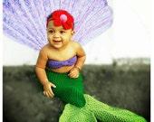 Crochet Ariel The Little Mermaid Outfit