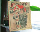 1931 Comfort Magazine Great Halloween Cover October Issue Vintage 1930s